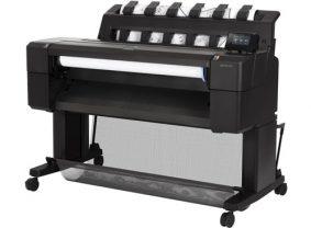 Plotter / Großformatdrucker (Tintenstrahl) der Marke HP